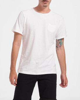 ROOK Men T-Shirt - 2121102072 - ΑΣΠΡΟ