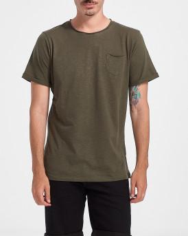 ROOK Men T-Shirt - 2121102072 - ΧΑΚΙ