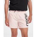 Hugo Short-length logo swim shorts - 50451173 ΑΒΑS - ΣΟΜΟΝ