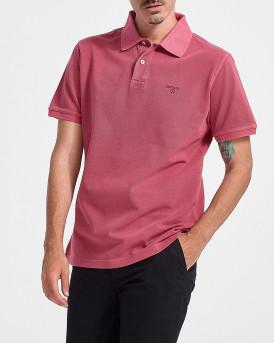BARBOUR Basic polo shirt - MML1127 - ΡΟΖ