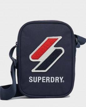 Superdry Men Shoulder Bag - M9110402Α - ΜΠΛΕ