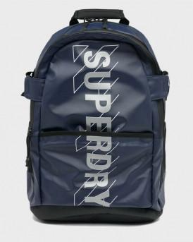SUPERDRY SPORT CODE TARP BACKPACK - M9110412Α - ΜΠΛΕ