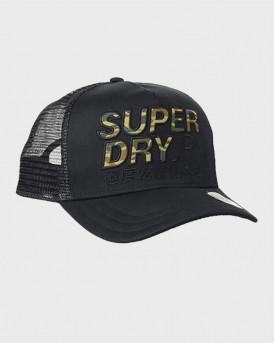 Superdry Ανδρικό Καπέλο - Μ9010017Α - ΜΑΥΡΟ