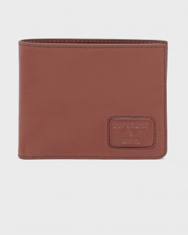 SUPERDRY NYC BIFOLD leather wallet - Μ9810144Α - ΤΑΜΠΑ