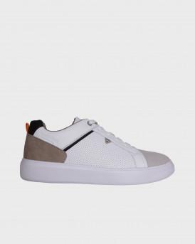 Rugged Gear Ανδρικό Sneakers - 20393 - ΑΣΠΡΟ