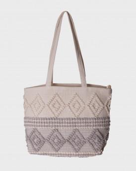 ONLY WOMEN'S SHOPPING BAG - 15224417 - ΕΚΡΟΥ