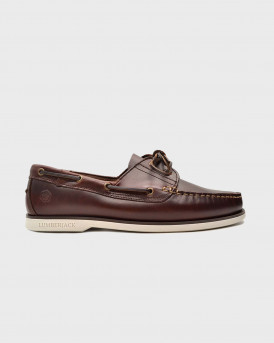 Lumberjack Ανδρικό Boat Shoes - SM07804-005-B03 NAVI - ΚΑΦΕ ΣΚΟΥΡΟ