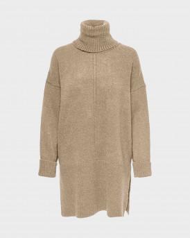 Only Roll Neck Knitted Γυναικείο Pullover - 15241191 - ΜΠΕΖ