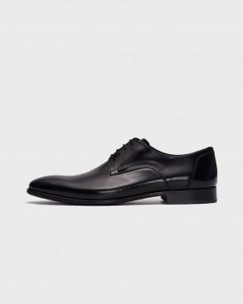 Boss Men's Dress shoes in black Ανδρικό Παπούτσι - R4972 FLO - ΜΑΥΡΟ