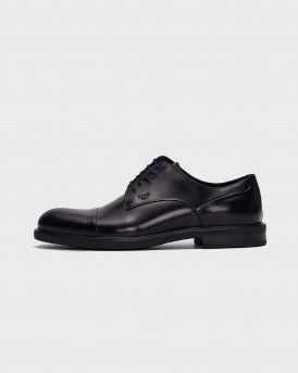 Men's Dress Shoes Black Ανδρικό Παπούτσι - R6739 - ΜΑΥΡΟ