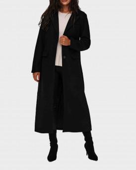 Only X-Long Coat Γυναικείο Παλτό - 15228607 - ΜΑΥΡΟ