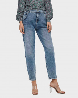 Only Onltroy Life Carrot Ankle Hight Waisted Γυναικεία Jeans - 15236966 - ΜΠΛΕ