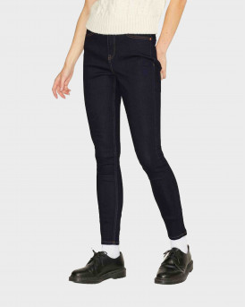 Jack & Jones Jxvienna HW Skinny Fit Jeans - 12203789 - ΜΠΛΕ