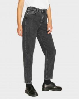 Jack & Jones Jxlisbon HW Mom Jeans - 12203869 - ΜΑΥΡΟ