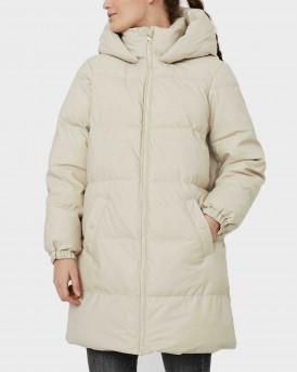 Vero Moda Hooded Long Jacket Γυναικείο Μπουφάν - 10253216 - ΜΠΕΖ