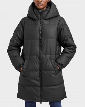 Vero Moda Hooded Long Jacket Γυναικείο Μπουφάν - 10253216 - ΜΑΥΡΟ