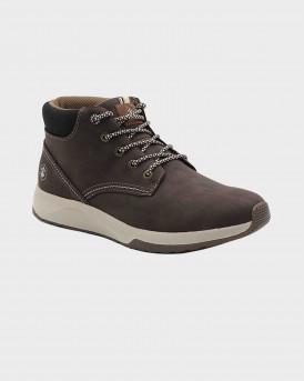 Lumberjack Nantes High Cut Ανδρικό Sneaker - SM86501 - ΚΑΦΕ