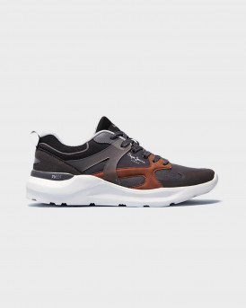 PEPE JEANS BROOKS COMBINED ΑΝΔΡΙΚΑ SNEAKERS - PMS30755 - ΓΚΡΙ