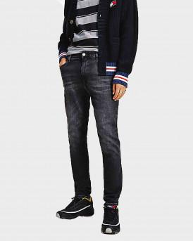 Tommy Jeans Simon Skinny Faded Jeans Ανδρικό Τζην - DM0DM11144 - ΜΑΥΡΟ